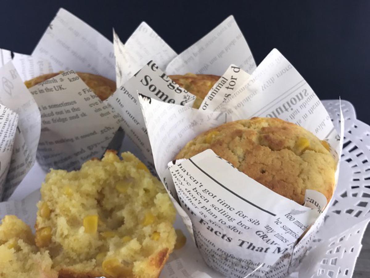Muffins de maiz